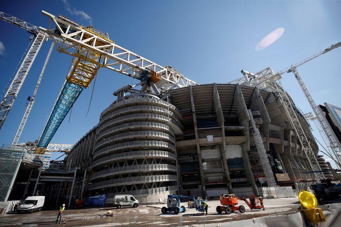 De laatstee had wordt gelegd aan de verbouwing van het Estadio Santiago Bernabéu.