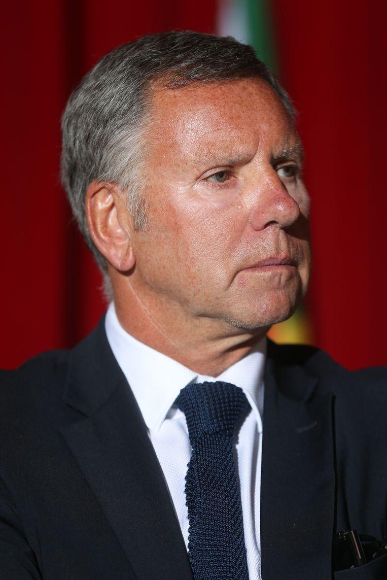 Alain Courtois moest opstappen, anders zou Nederland niet meer meewerken. Beeld Belga
