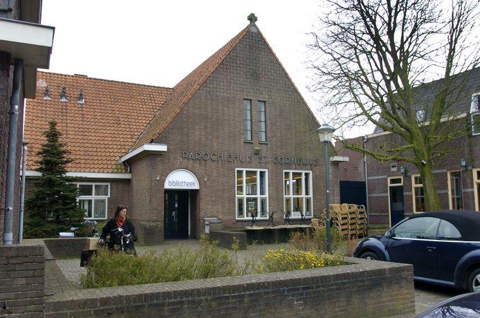 Het parochiehuis in Zeeland.