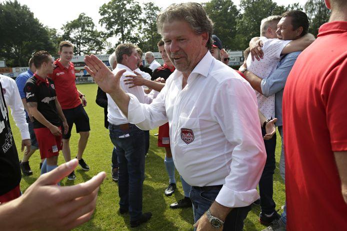 SteDoCo-trainer Frans Adelaar kreeg zijn gedroomde tegenstander in de KNVB Beker: FC Utrecht. ARCHIEFFOTO