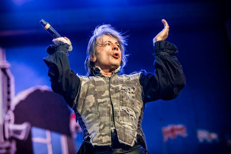 Iron Maiden-zanger Bruce Dickinson. Beeld UIG via Getty Images