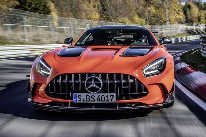 Mercedes AMG GT Black Series.
