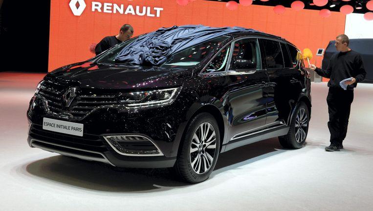 De Renault Espace Initiale Paris op de 85ste Geneva International Motor Show in Zwitserland, maart 2015. Beeld anp