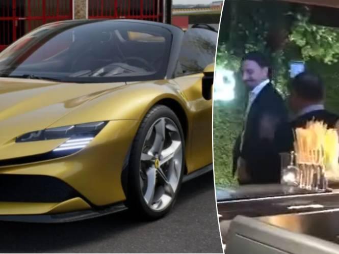 Zlatan Ibrahimovic schenkt zich naar jaarlijkse gewoonte dure wagen cadeau en wordt door z'n vrouw verrast met feestje