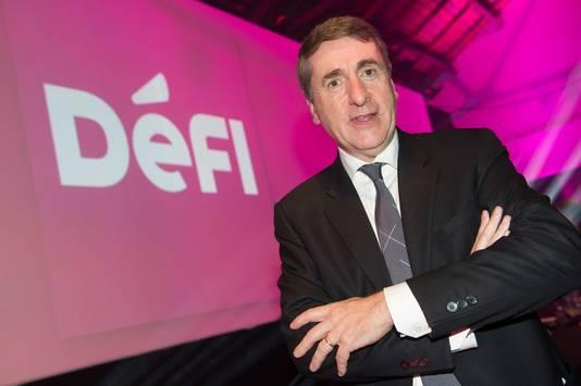 Olivier Maingain, président de DéFI (ex-FDF)
