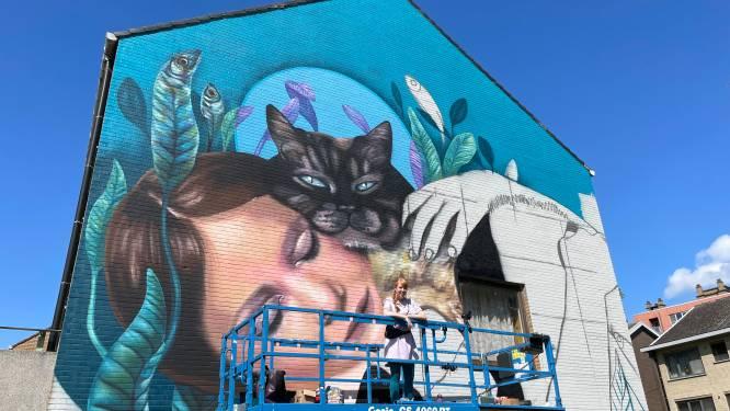 """Volkswijk Nieuw Gent verwelkomt zes nieuwe muurschilderingen: """"We geven de buurt een nieuw elan"""""""
