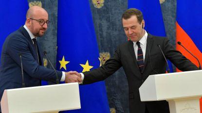Premier Michel gaat voor betere economische samenwerking met Rusland