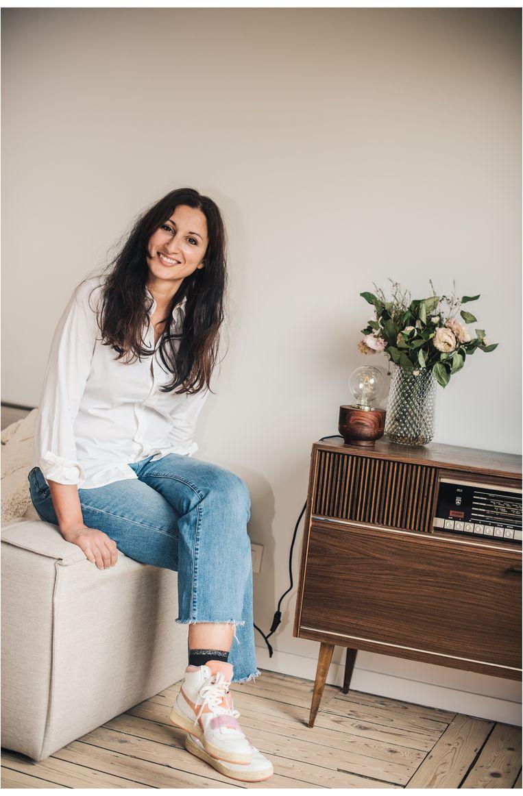 Norah: 'Ik vond het belangrijk om eerst mijn leven goed op orde te hebben, om mijn kinderen een stabiele thuis te kunnen bieden.' Beeld Carmen De Vos