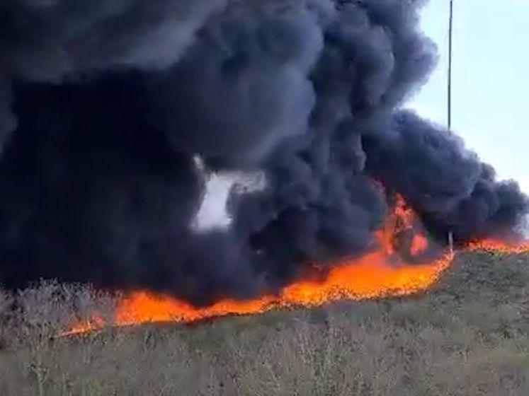 Skibaan in brand bij skiclub de Schans in Uden