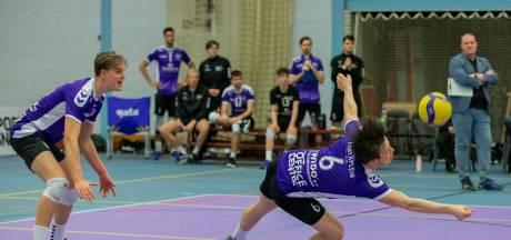 Volleyballers Vocasa verliezen van koploper Dynamo