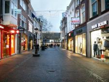 December in Utrecht: lege winkelstraten en donkere etalages. 'Dit klopt niet met deze tijd van het jaar'