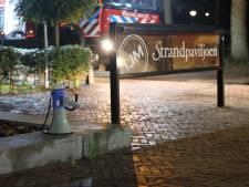 Brand in Strandpaviljoen waar bruiloft gaande is, 250 gasten moeten pand verlaten