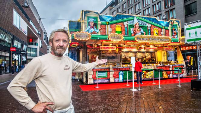 Haagse oliebollenkraam niet bij Grote Marktstraat, maar gewoon op Spuiplein: 'Schandalig'