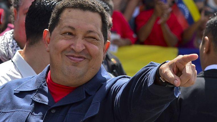 Hugo Chávez in 2012 Beeld afp