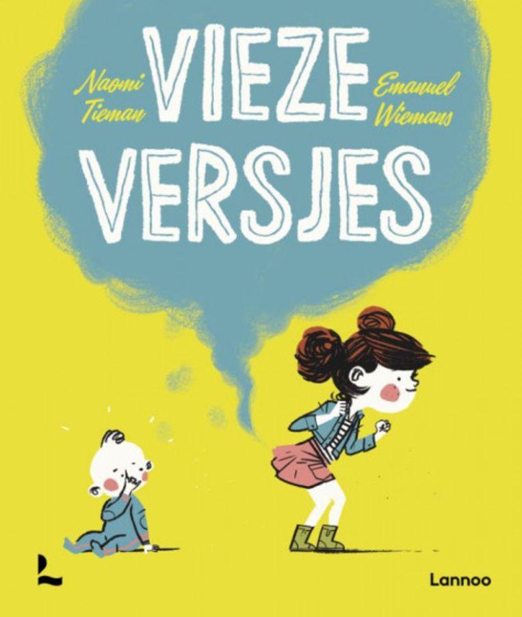 Naomi Tieman & Emanuel Wiemans, 'Vieze versjes', Uitgeverij Lannoo, 30 p., 12,99 euro,  2+. Beeld rv