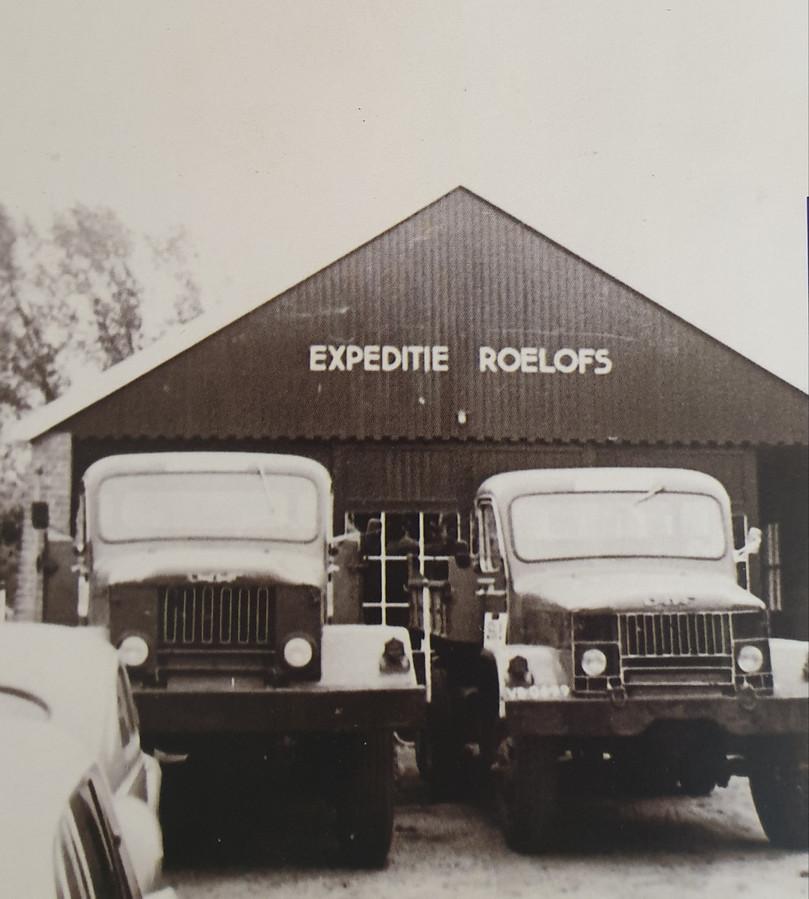 De oude werkplaats van Roelofs Den Ham.