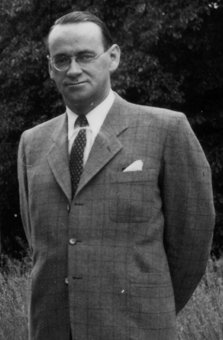Carl Lutz in 1944. Beeld Archiv für Zeitgeschichte ETH Zürich/Agnes Hirschi