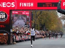 Kipchoge schrijft historie met marathon onder twee uur
