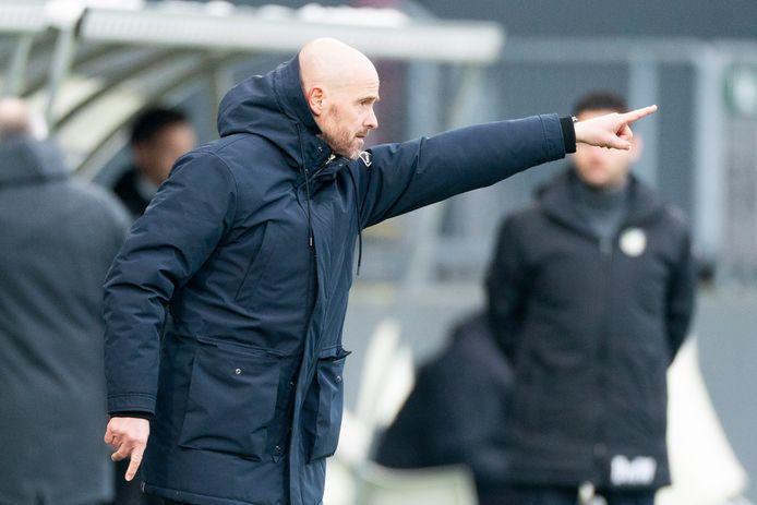 Ajax-trainer Erik ten Hag.