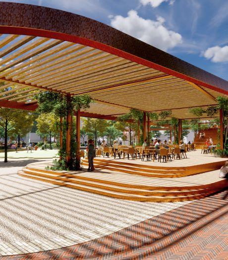 Plan marktplein Hengelo komt te laat: 'Laat de markt met zijn architectuur van Wederopbouw de markt blijven'