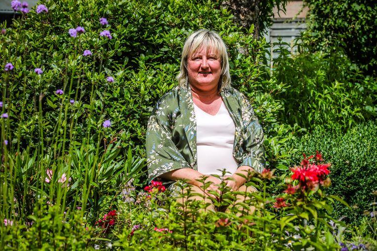 Ann Van Poucke in haar 'Tuin van Eden'.