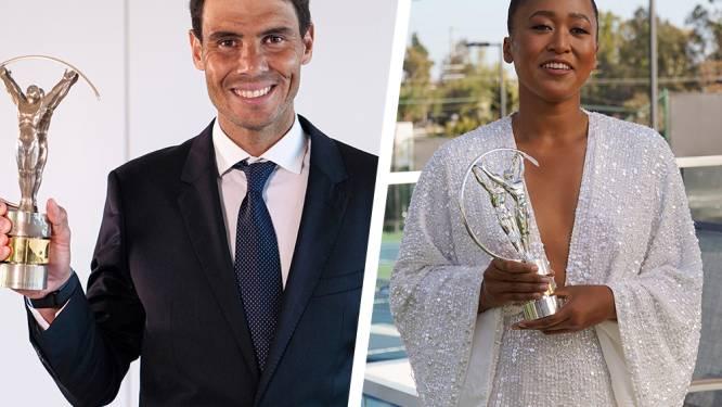 Nadal en Osaka pakken ook zonder te tennissen prijzen met virtuele Laureus Awards