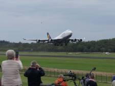 Laatste Boeing van Lufthansa vertrokken van Twente Airport