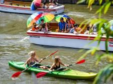 Gent zoekt verkoeling op en in water: geen kano meer vrij, slechte dag qua wildzwemmen