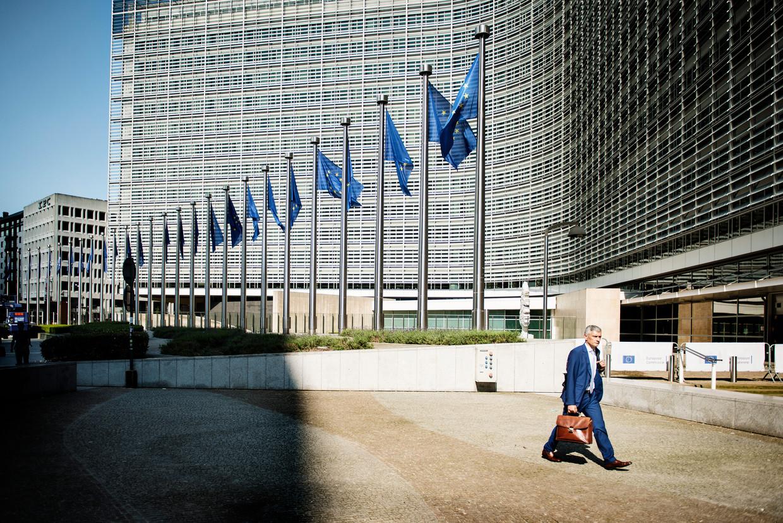 Het Berlaymontgebouw, het hoofdkwartier van de Europese Commissie.