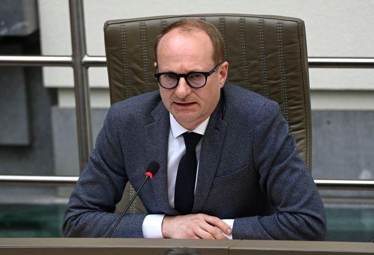 Minister van Onderwijs Ben Weyts. Beeld Photo News