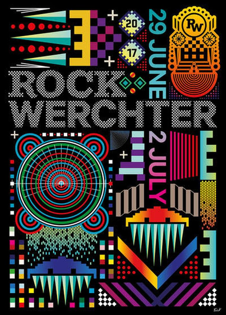 Posters Rock Werchter Beeld Rock Werchter