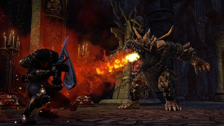 Een screenshot uit 'The Elder Scrolls Online'. Beeld UNKNOWN