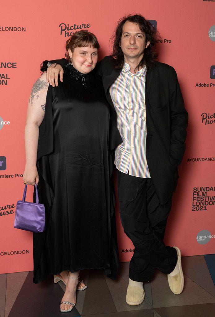 Lena Dunham et Luis Felber