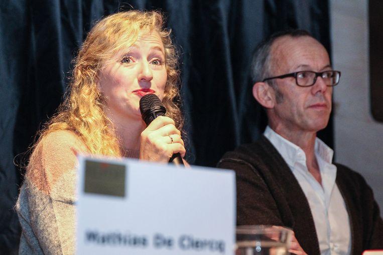 Astrid De Bruycker en Filip Watteeuw