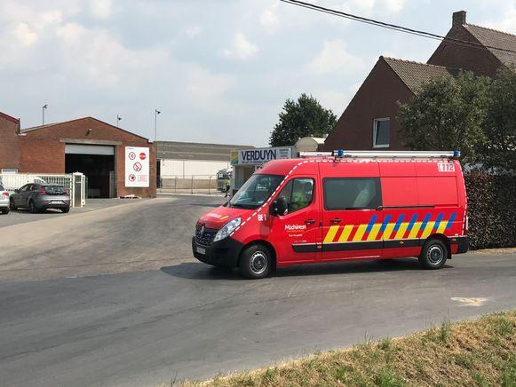 Archiefbeeld. De brandweer ging op 6 juli ook al langs bij  Verduyn.