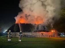 Brand verwoest bezoekerscentrum museumboerderij Heeswijk-Dinther: 'Smoel van ons museum is weg'