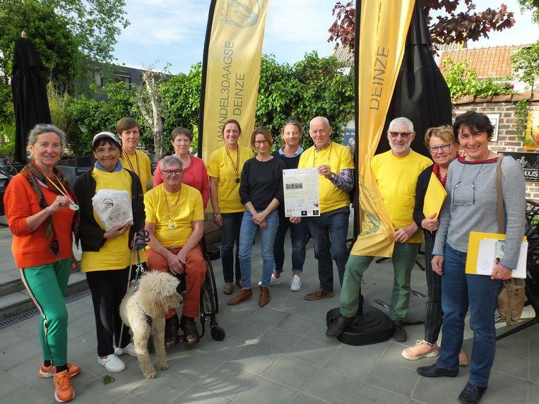 De organisatoren van de Wandel3daagse.