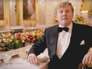 Dineren met Willem-Alexander: wie geeft zich op?