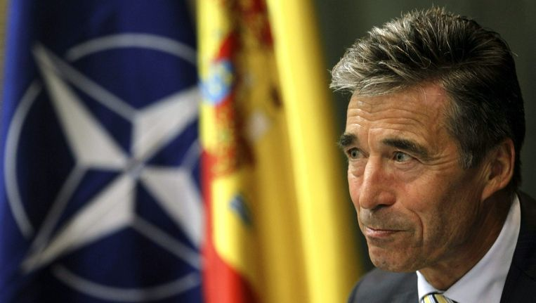 NAVO-topman Anders Fogh Rasmussen Beeld epa
