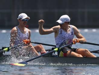 """Brys en Van Zandweghe naar A-finale in lichte dubbeltwee: """"Race van ons leven roeien voor medaille"""""""