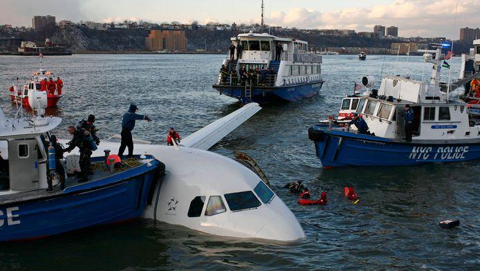Vandaag is het exact acht jaar geleden dat een Airbus een noodlanding maakte op de Hudson.