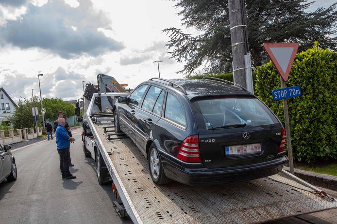 Ook in Pamel werden woonwagenkampen doorzocht