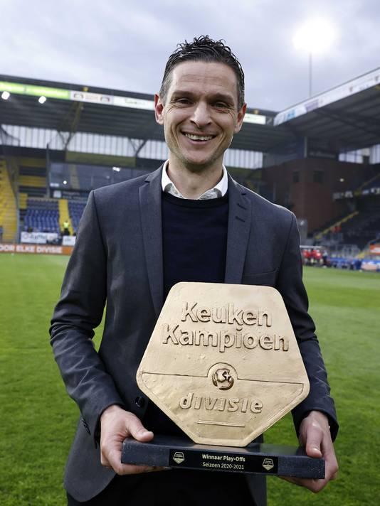 Rogier Meijer na de promotie.