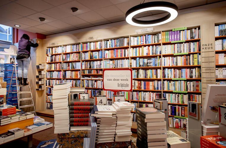 Dankzij het garantiefonds kunnen boekhandels hun assortiment verbreden.  Beeld ANP, Koen van Weel