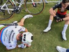 Van Aert et Alaphilippe à bout de force, au terme d'un sprint royal
