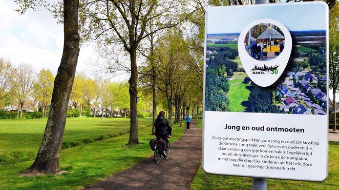 Als het aan Dorpsraad Bavel ligt wordt de groene long - ook wel het park - in Bavel in de toekomst veel beter benut. Bijvoorbeeld door er een kiosk in te plaatsen en een trampoline voor de kinderen.