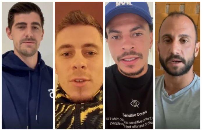 Thibaut Courtois, Thorgan Hazard, Dele Alli en Victor Vazquez zijn slechts enkele van de vele topvoetballers die Sander Coopman een hart onder de riem steken.