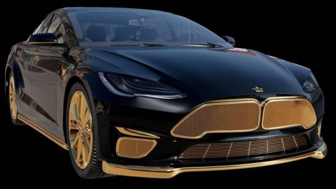 Russen maken gouden versie van Tesla