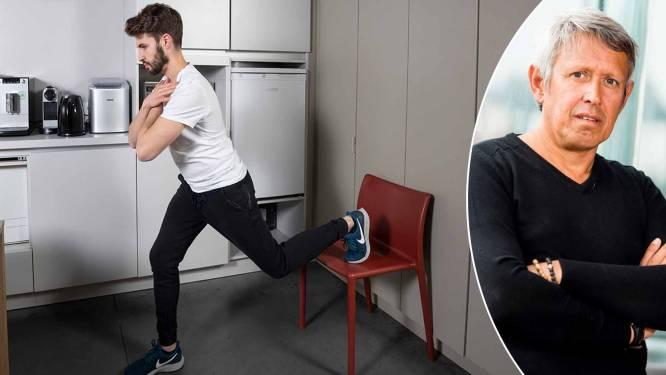 """""""Benen zijn het moeilijkst om te trainen"""": topkinesist Lieven Maesschalck deelt zijn beste work-out voor stevige benen"""