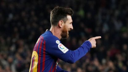 LIVE. Dembélé en Messi bezorgen Barça halfweg dubbele bonus